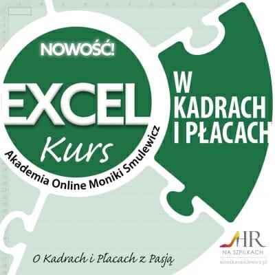 Kurs: Excel w kadrach i płacach