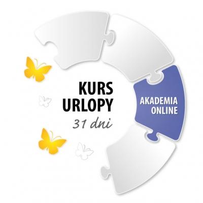 """Akademia Online: Książka """"Urlopy i zwolnienia od pracy"""" + Kurs Urlopy, III edycja"""
