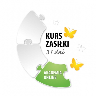 """Akademia Online: Książka """"Świadczenia z tytułu choroby i macierzyństwa"""" + Kurs Zasiłki, II edycja"""